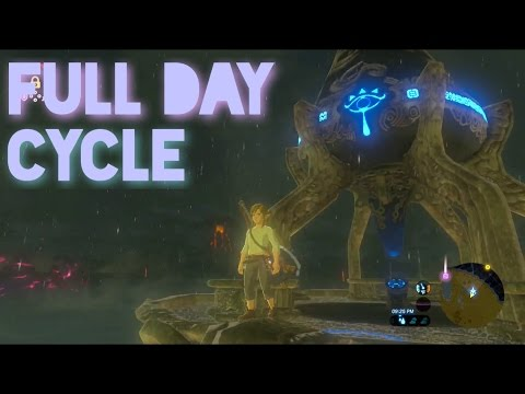 Zelda: Breath of the Wild-Day and Night cycle timelapse