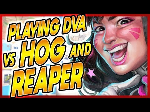 PRO DVA | How to Dva vs ROADHOG and REAPER now that GOATS IS DEAD! | ft. WORM