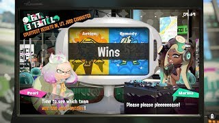 Splatoon 2 Splatfest Action VS Comedy Results!