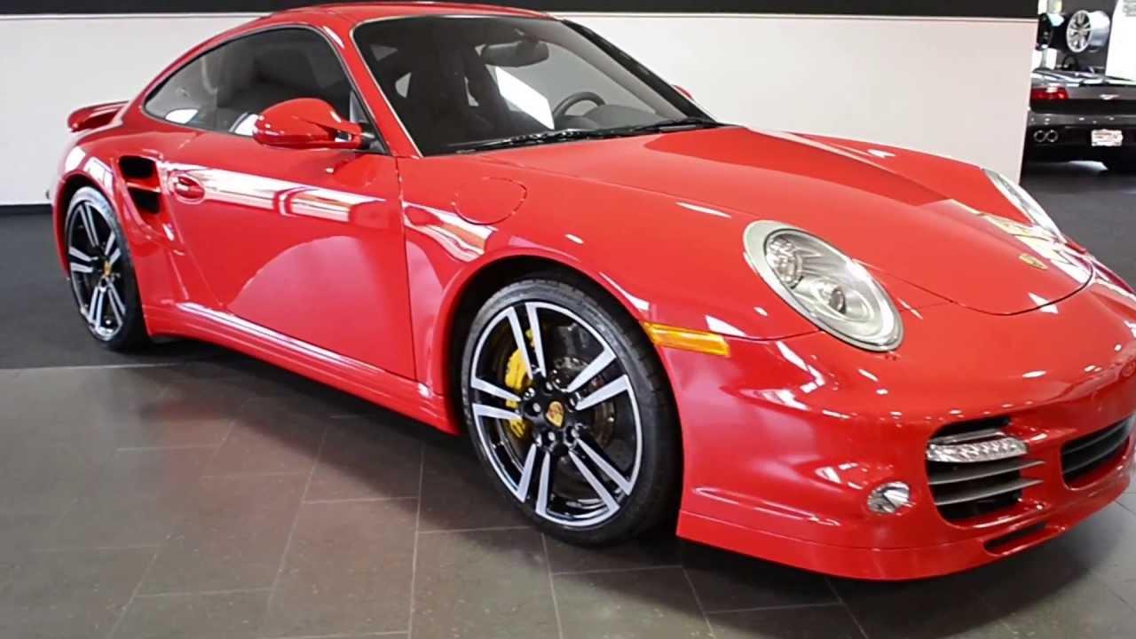 2019 Porsche 911 Turbo S >> 2012 Porsche 911 Turbo S Guards Red LC252 - YouTube