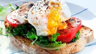 Идеальный завтрак. Яйца пашот.