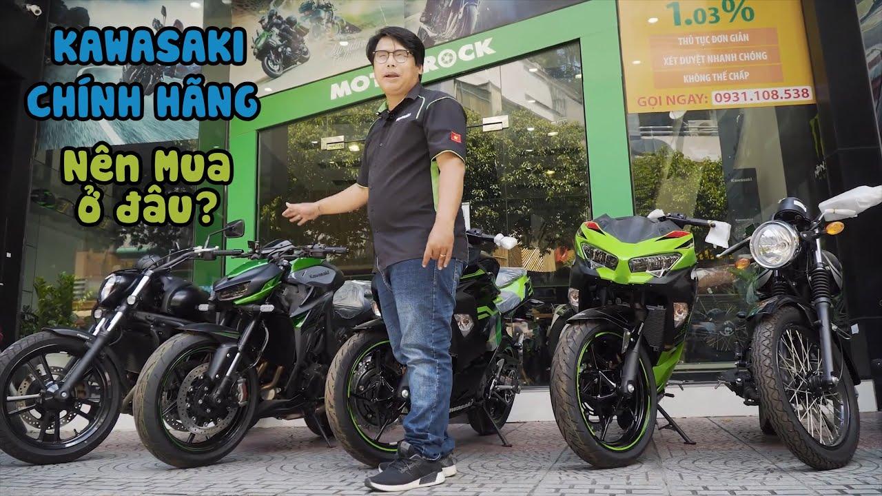 Mua online xe Kawasaki chính hãng ở đâu uy tín và an toàn ?