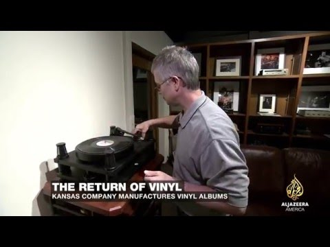 Al Jazeera America News Visits Acoustic Sounds/Quality Record Pressing in  Salina, KS