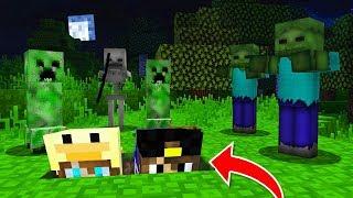 - Майнкрафт Выживание ХАРДКОР в Деревне Жителей в 3 часа ночи Нуб Minecraft видео мультик для детей