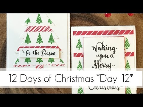 Easy to Replicate Xmas Cards & Fixing Mistakes