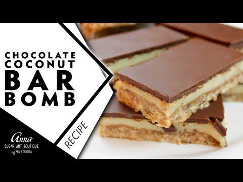 Chocolate Coconut Bar Bomb