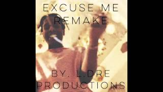 A$AP Rocky - Excuse Me Instrumental (Remake by L.Dre Productions)