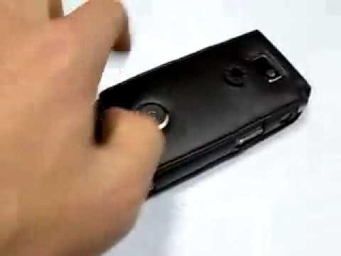 Capa de couro Premium Full proteção Vertical com clip removível para Samsung SGH i907 Epix