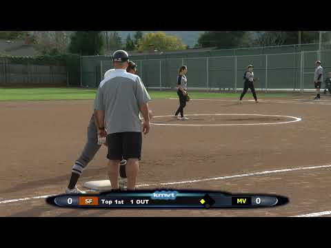 St Francis Lancers vs Mountain View Spartans - Softball, March 9th, 2018