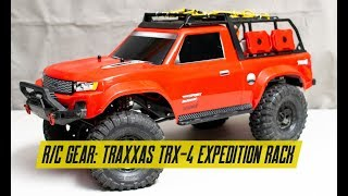Traxxas TRX-4 Sport Expedition Rack Overview