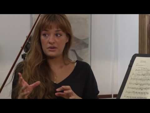 Nicola Benedetti Masterclass at RWCMD - Violin Concerto in D major, Op. 35 by Tchaikovsky