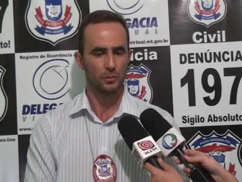 Polícia Civil prende suspeito de cometer vários crimes em Confresa