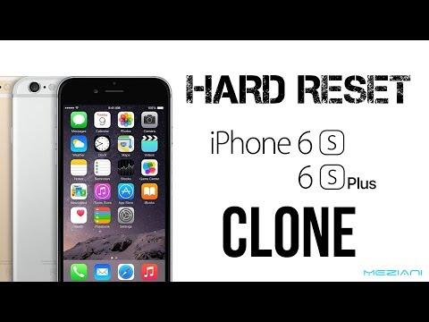 Hard Reset iPhone 6S, 6S PLUS Clone