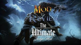 Skyrim SE - The Ultimate Dodge/Roll Mod Review PC and XBOX ONE (Best Dodge Mod)