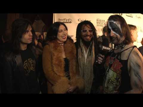 TOWER Interview, Revolver Music Awards 2016 Black Carpet | MetalSucks