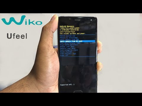 How to Hard Reset Wiko Ufeel - YouTube