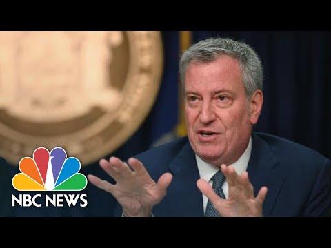 NYC Mayor Bill De Blasio Holds Coronavirus Briefing | NBC News