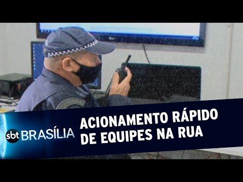 Monitoramento à distância é instalado em Santa Maria | SBT Brasília 21/07/2020