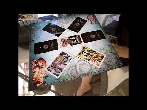 Tattoo Tarot ~ The Rose Spread Reading