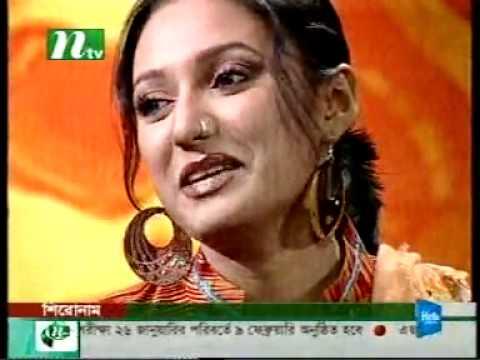 Bangladeshi Model prova chatting in Ntv program.flv