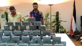 ضبط 400 طربة حشيش فى مطاردة مع العناصر الأجرامية بالأسكندرية