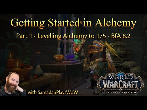 Getting Started in Alchemy – Part 1 – Levelling Alchemy Skill to 175 | BfA 8.2