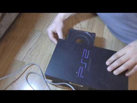 Первое включение потрёпаной Sony PlayStation 2 Fat