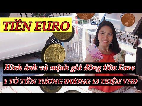 Tiền Euro - 1 Tờ Tiền Tương đương 13 Triệu Việt Nam đồng | Phuong Na
