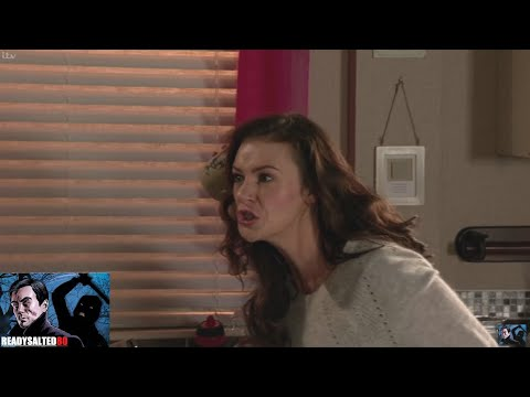 Coronation Street - Vicky Goes Mental And Throws A Cup At Robert