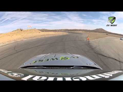 EV West at Continental Tire GP - European Car Magazine - Willow Springs Streets - Electric Race Car