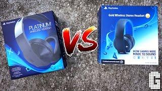 SHOWDOWN! : Sony Platinum Headset VS Sony Gold Headset