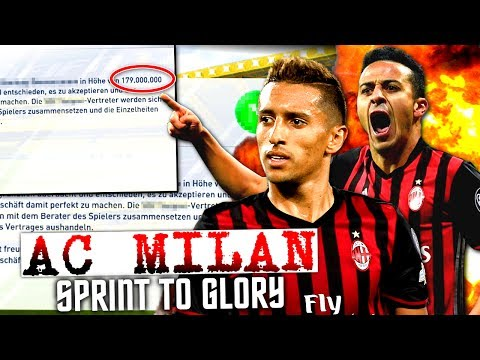 FIFA 17 : OMG MEIN HEFTIGSTER TRANSFER IN FIFA 17 !!! 😳😳😳 AC MILAN SPRINT TO GLORY KARRIERE