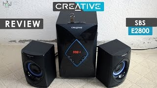 Creative SBS E2800 Unboxing and Review with Sound Test