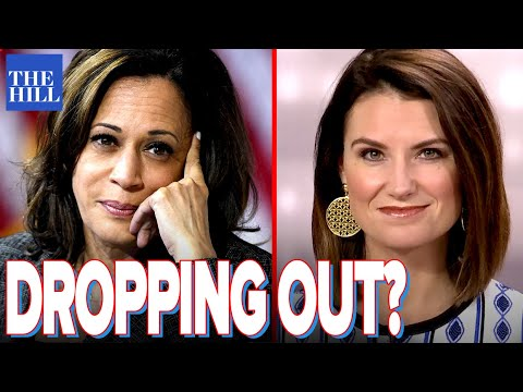 Krystal Ball: Is Kamala Harris on the verge of dropping out?