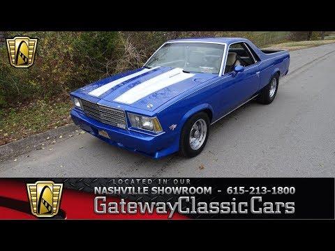 1979 Chevrolet El Camino, Gateway Classic Cars Nashville,#941nsh