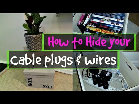 How to Hide your Cable & Electric cords | SWEDEN | Vlog#69