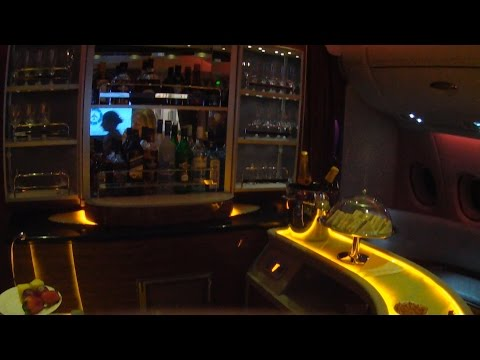 A380 ROME to KOH SAMUI - EMIRATES and BANGKOK AIRWAYS Business Class-11 03 2015