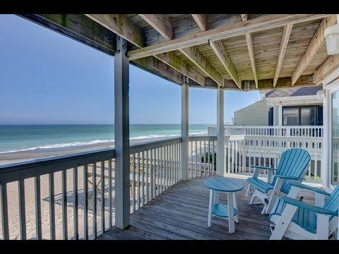 Ocean Dunes 1806 Oceanfront Vacation Rental Condo In Kure Beach