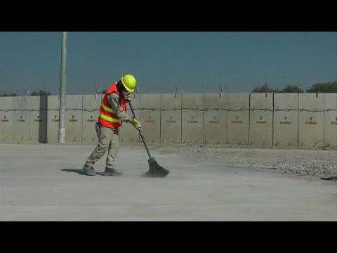 Sur la base aérienne de Bagram, en Afghanistan, les Américains font place nette avant leur départ