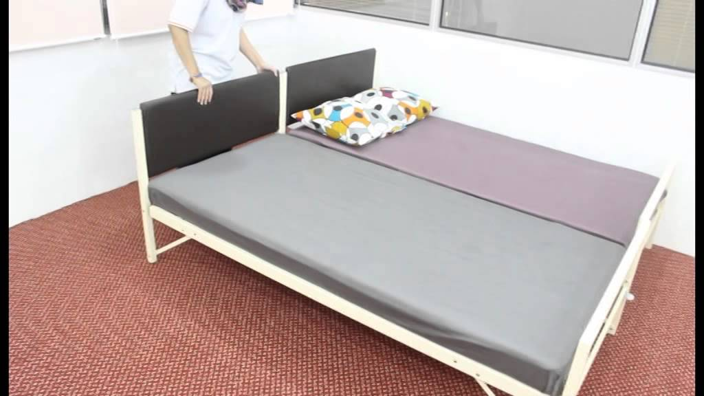 D\'loyd Trundle Bed - YouTube