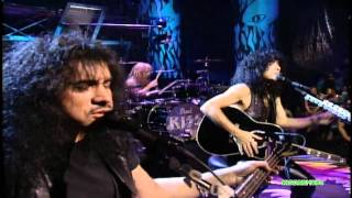 "KISS  ""Unplugged ""  Spit"