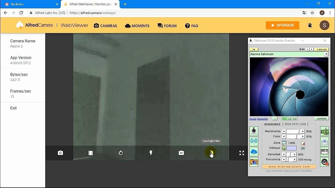 Alfred Camera App Convierte Celular en Cámara IP con Visión Nocturna