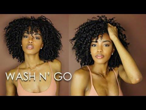 WASH N GO TUTORIAL feat. CURLS UNLEASHED