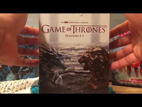 Game Of Thrones Box Set Season 1-7 Blue-Ray Unboxing Video