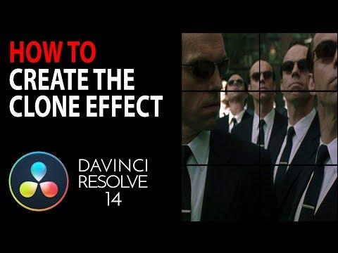 HOW TO: Create a Clone Effect | Davinci Resolve 15 & 14