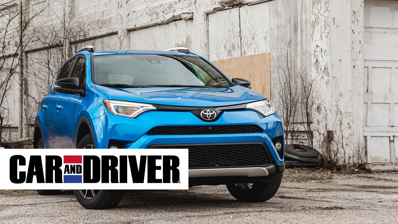 Toyota Rav4 Se Review In 60 Seconds Car And Driver