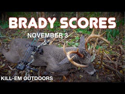 BRADY SCORES!! Big Swamp Buck!! Mp3