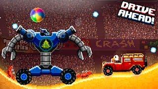 Машинки ЕЖЕДНЕВКИ ХОТ ВИЛС DRIVE AHEAD #23 монстр траки ТАЧКИ HOT WHEELS cars game игра как мультики