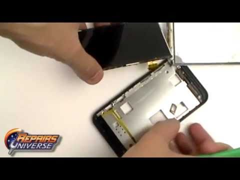 HTC Incredible S Screen Take Apart Repair Guide