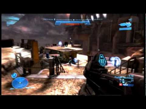Halo reach custom firefight gameplay firefight for Halo ce portent 2 firefight